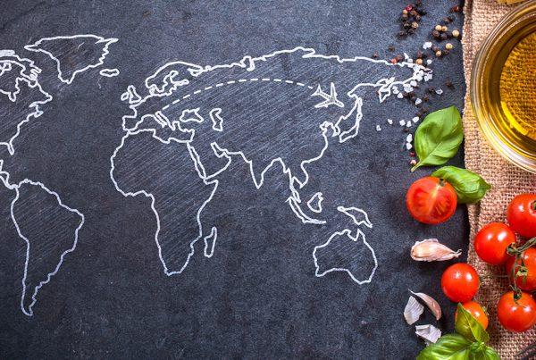 Mappamondo Cina Italia - E-Marco Polo Import Export